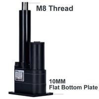 Dihool electric linear actuator dc 12v 10000n push 1000kg 350mm 500mm 1500mm stroke motor drive flat bottom lift platform ip65