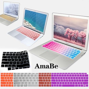 Silicone Soft Waterproof US Laptop Keyboard Cover For Apple Macbook 2018 New Air 13 inch (A1932) Keyboard