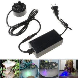 Image 2 - 3 kafa Mist Maker Atomizer ultrasonik hava nemlendirici sisleyici nebulizatör ab tak