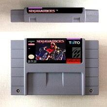 Wojownicy Ninja karta gry akcji wersja amerykańska język angielski