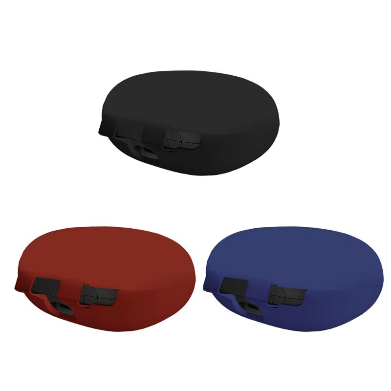 Clamshell Opening Anti-shock Flexible Silicone Comprehensive Protective Case Full Cover for Beats Powerbeats Pro Earphone