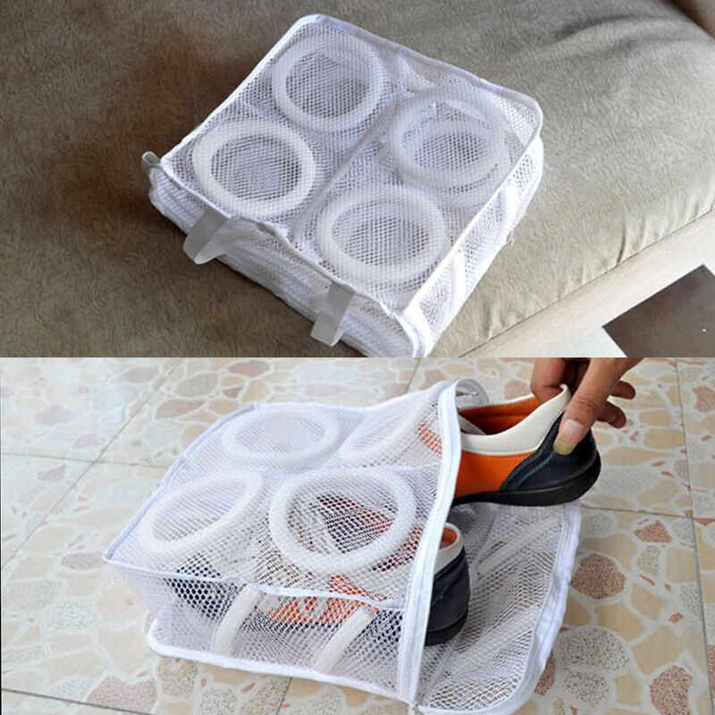 Hot Laundry Bag Utility Sneaker Sports Shoes Laundry Net Wash Washing  Cleaner Hanging Bag Shoes Boot Home Shoes Bag| | - AliExpress