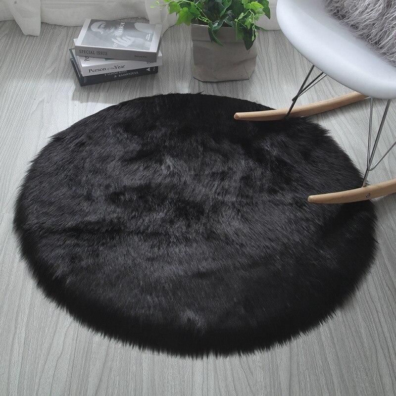 Plush Soft Carpet Faux Fur Rugs