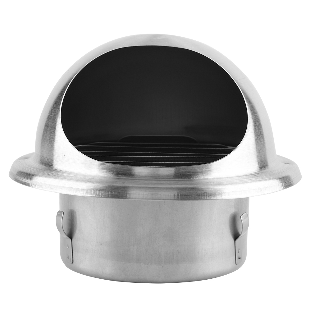 Adjustable Wall Mounted Ceiling Air Vent Cap Round Ventilation Duct Cover 304 Stainless Steel Vents Cover Home Wall Air Outlet