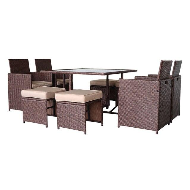 9 Pcs Garden Furniture Sofa Set  2