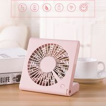 1PCS USB Charging Portable Handheld Electric Cooling Fan Foldable Three Gear Air Cooler Fan Summer Desk Table Cooling Fans Perso цена и фото