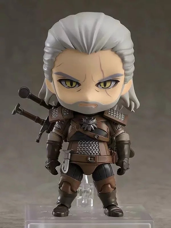 907 Nendoroid Hunter Geralt Action Figurine Figure Toy Model Xmas Gift B20