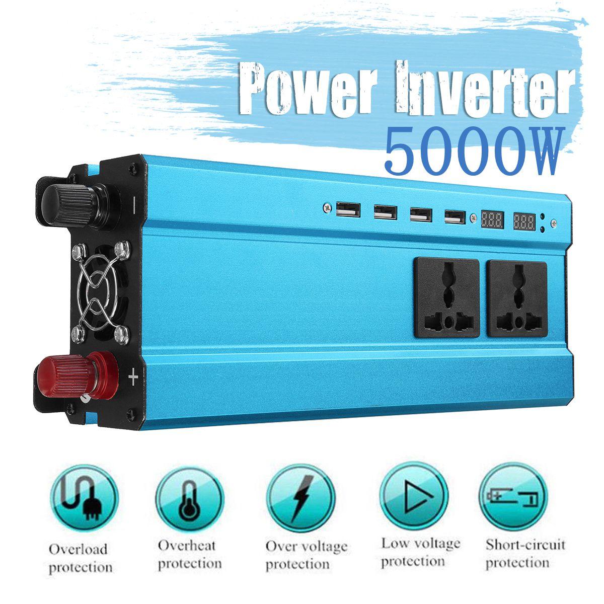 5000w conversor de carro inversor de energia