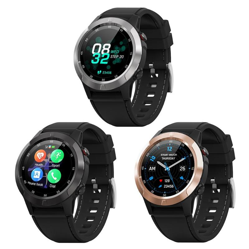 M4S GPS IP67 2G Bluetooth Call Sports Heart Rate Blood Pressure Smart Watch
