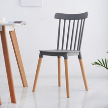 Nordic INS Windsor Chair Restaurant Dining Chair Restaurant Office Conference Computer Chair Home Bedroom Learning Wood Chair все цены