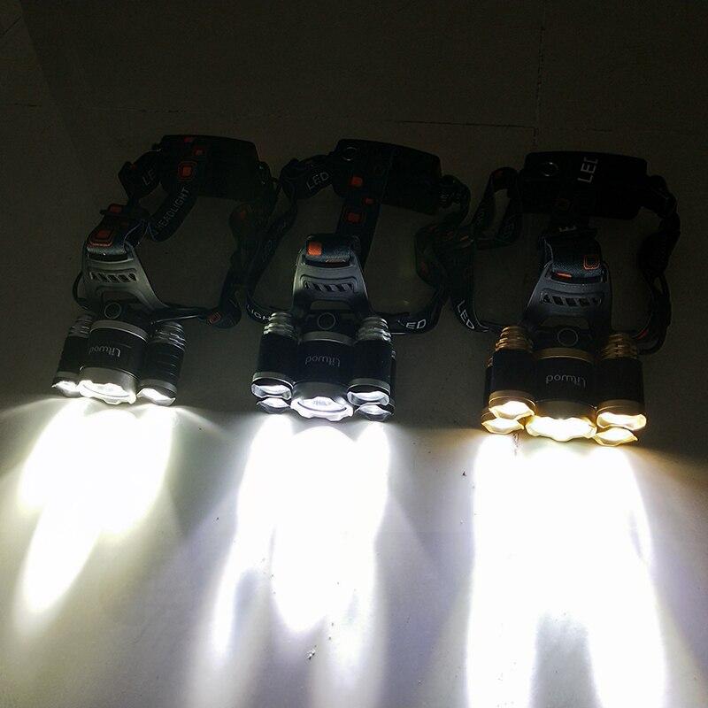 Купить самый мощный светодиодный налобный светильник датчик налобного