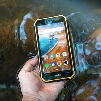Перейти на Алиэкспресс и купить Водонепроницаемый смартфон Ulefone Armor X6, 5,0 дюйма, IP68/IP69K, Android 9,0, MT6580, 4 ядра, 2 Гб 16 Гб, 4000 мАч