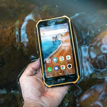 Купить Ulefone Armor X6 5,0 дюйма прочный смартфон IP68/IP69K Водонепроницаемый Android 9,0 мобильный телефон MT6580 четырехъядерный 2 Гб 16 Гб мобильный телефон 4000 мАч