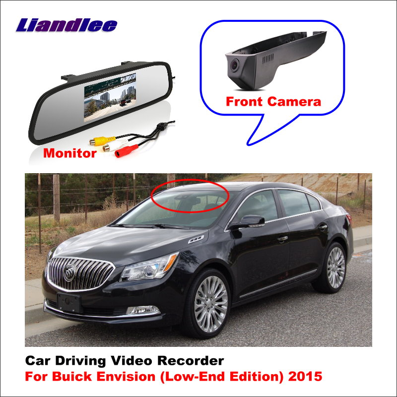 Liandlee Car DVR Wifi Video Recorder Dash Cam Camera For Buick Envision (Low Edition) 2015 Night Vision APP Control Mobile Phone image