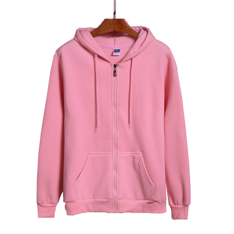 High Quality New Pink/Black/Grey/Red Hip Hop Street Sweatshirt Skate Male/Female Pullover Hoodie Men's Zipper Hoodie
