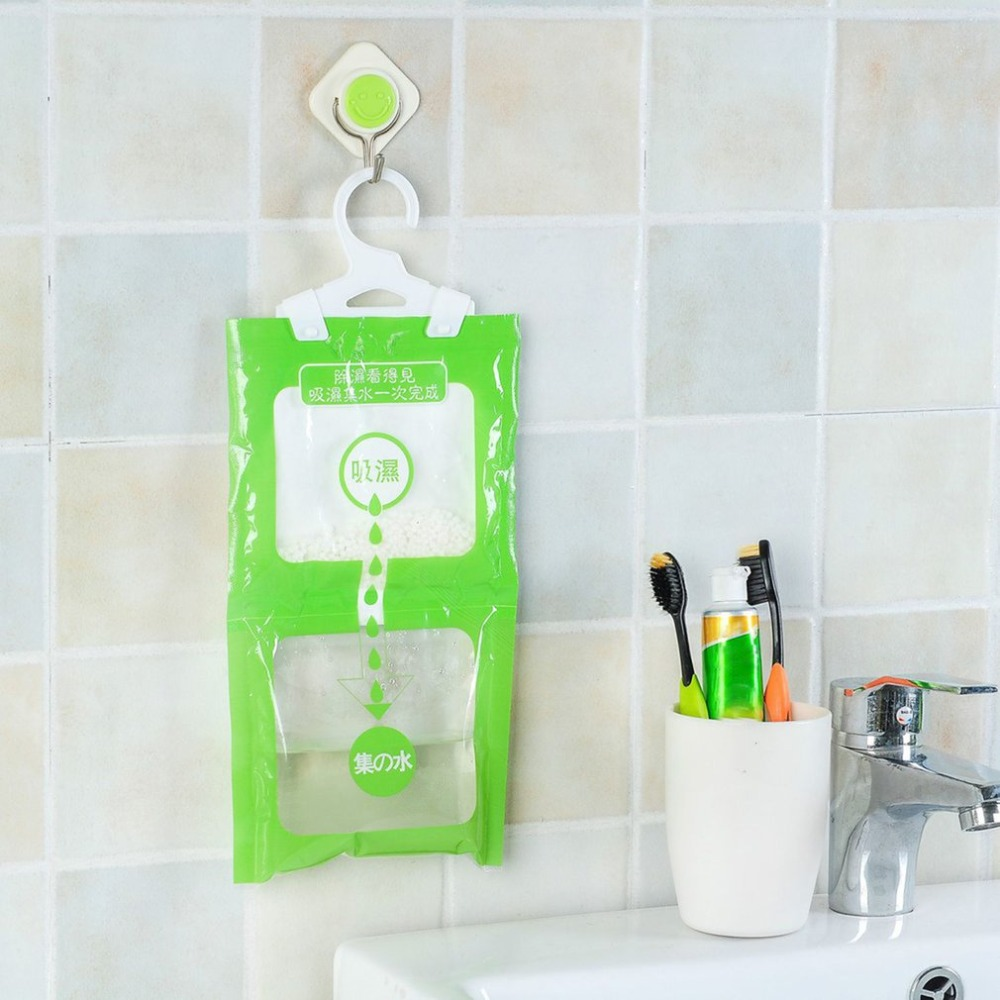 100g Dehumidifier Bags Moisture Absorber Hanging Wardrobe Hygroscopic Anti-mold Desiccant Drying Agent Household Chemicals