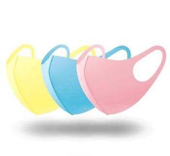 1/3Pcs Unisex Adult Kids Sponge Mouth Mask Washable Dustproof Reusable anti-pollen Allergy Face Mask Health Face Shield