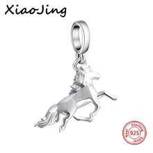 New Fashion Fit Charms Pandora Silver 925 Beads Bracelets Flying Horse Pendant For Jewelry Making Women Gifts