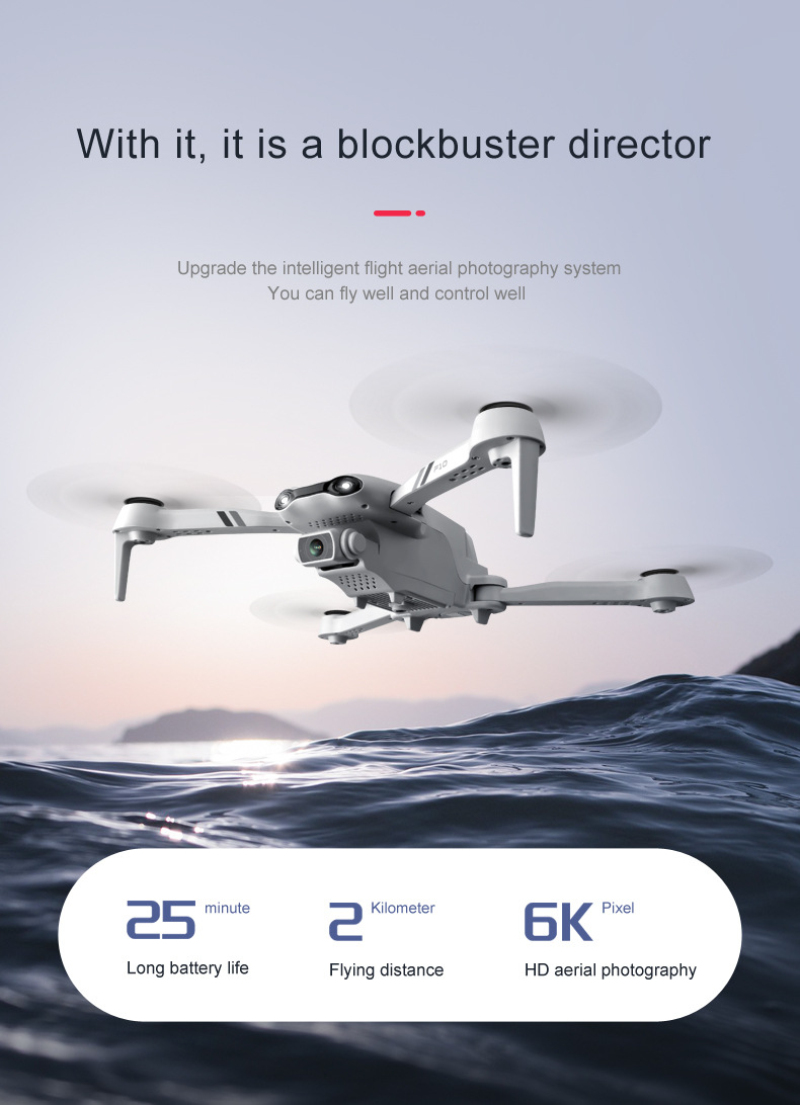 H67b17fbbdef94f698e64e40f8165d1f1c - Flying Toy 6K F10 Dual Camera With GPS 5G WIFI Wide Angle FPV Real-time Transmission Rc Distance 2km Professional Drone