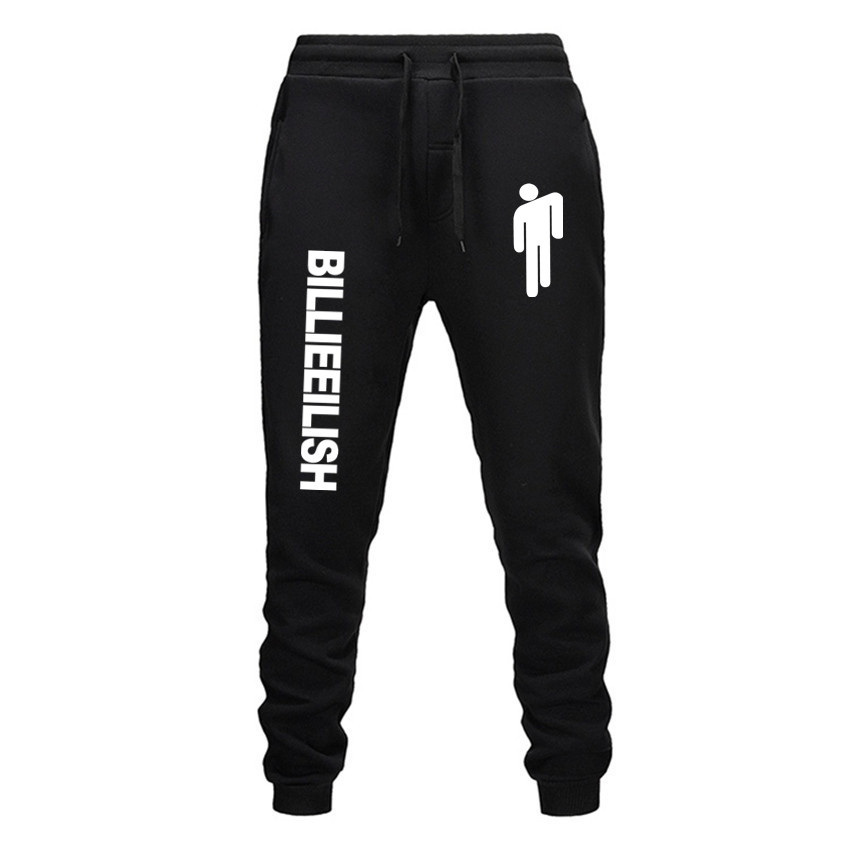 Billie Eilish Fashion Printed Trousers Women/Men Fitness Sweatpants 2019 Hot Sale Casual Trendy Casual Slim Trousers Jogger