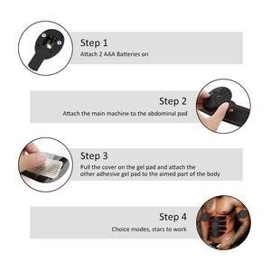 Image 3 - Yooke inteligentny akumulator Pulse stymulator mięśni elektryczny masażer wyszczuplający tłuszcz 10 sztuk samoprzylepne wymiana Unisex