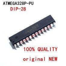 1 шт. ATMEGA328P-PU DIP28 ATMEGA328-PU DIP ATMEGA328P U DIP-28 328P-PU Новый и оригинальный IC