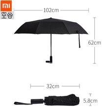 Xiaomi зонтик дамы зонтик ветрозащитный складной автоматический зонт мужчины путешествия бизнес автомобиль зонтик