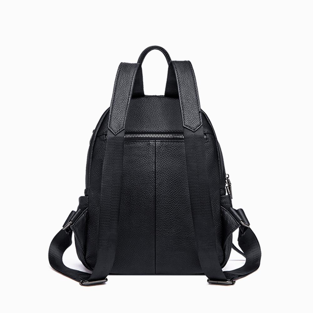 YUPINXUAN большой емкости холщовые кожаные рюкзаки для подростков водонепроницаемые школьные рюкзаки большой износостойкий рюкзак из парусин... - 5