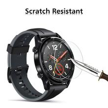 For Huawei Watch GT Tempered Glass Film Smart Sports Watch Film Protective Screen Protector Guard Anti Explosion Anti-shatter for tic smart watch ticwatch pro bluetooth smart watch screen protector cover ultra clear guard tempered glass protective film