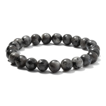 Fashion Jewellery 6/8/10MM Domestic Flash light stone Bracelet Suitable for Charming Men's and Women's Amulets