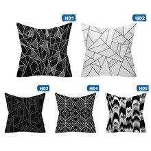 Brief Marble Geometric Sofa Cushion Cover Pillow Pillowcase Polyester 45*45 Throw Pillow Home Sofa Decor Pillowcover brief marble geometric sofa decorative cushion pillow pillowcase polyester 45 45 throw pillow home decor cushion