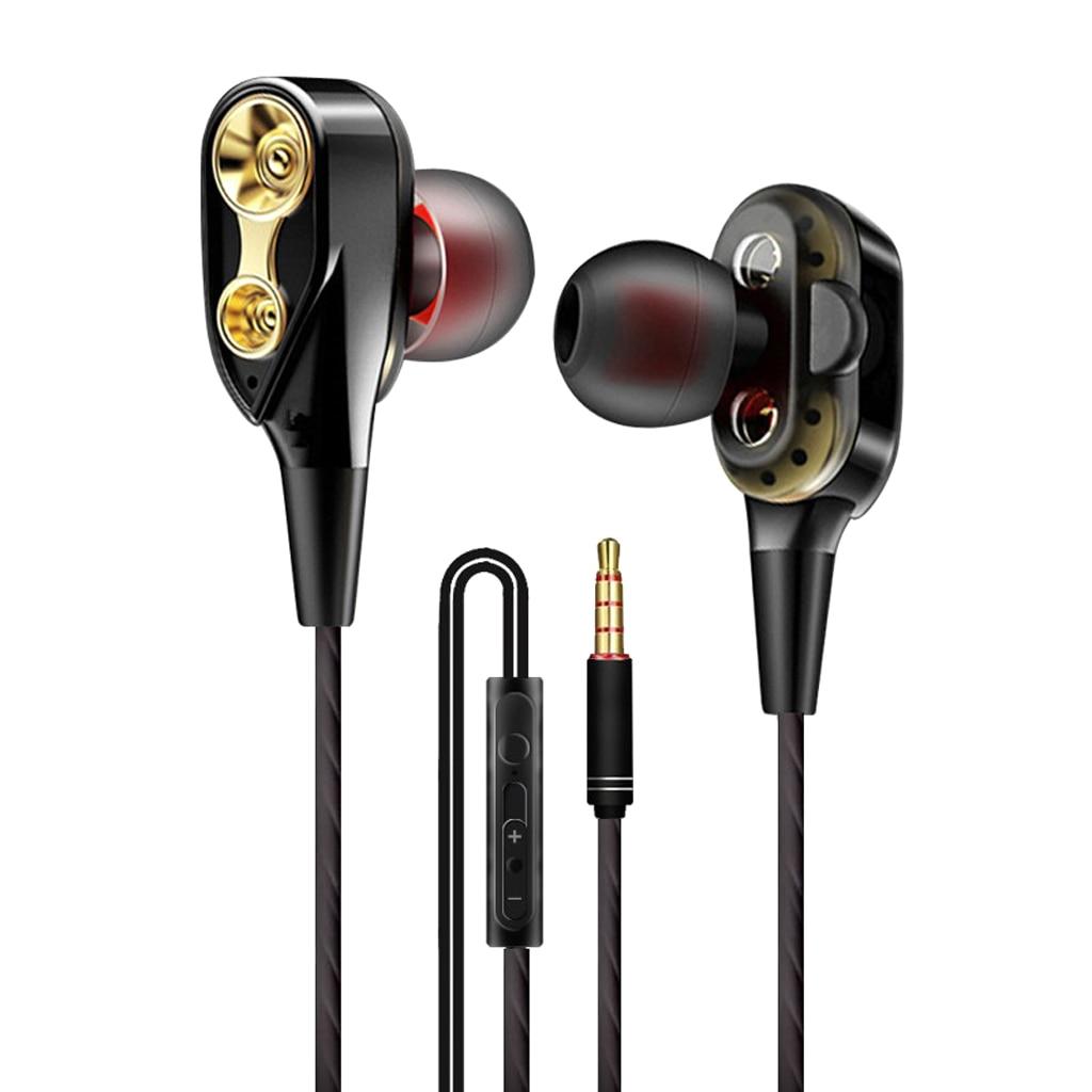 3.5mm Wired Stereo Earphone Headset Sport In-ear Earphone Headphone For iPhone Samsung Xiaomi Huawei PC Laptop Gaming Earphones