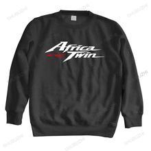 Homme bawełniana bluza z kapturem moda japonia motocykl motocykl Hon afryka Twin Crf 1000 L Crf1000 unisex marka zimowa bluza w stylu casual tanie tanio Jesień I Zima Na co dzień CN (pochodzenie) Pełne COTTON POLIESTER Drukuj REGULAR Z okrągłym kołnierzykiem shubuzhi