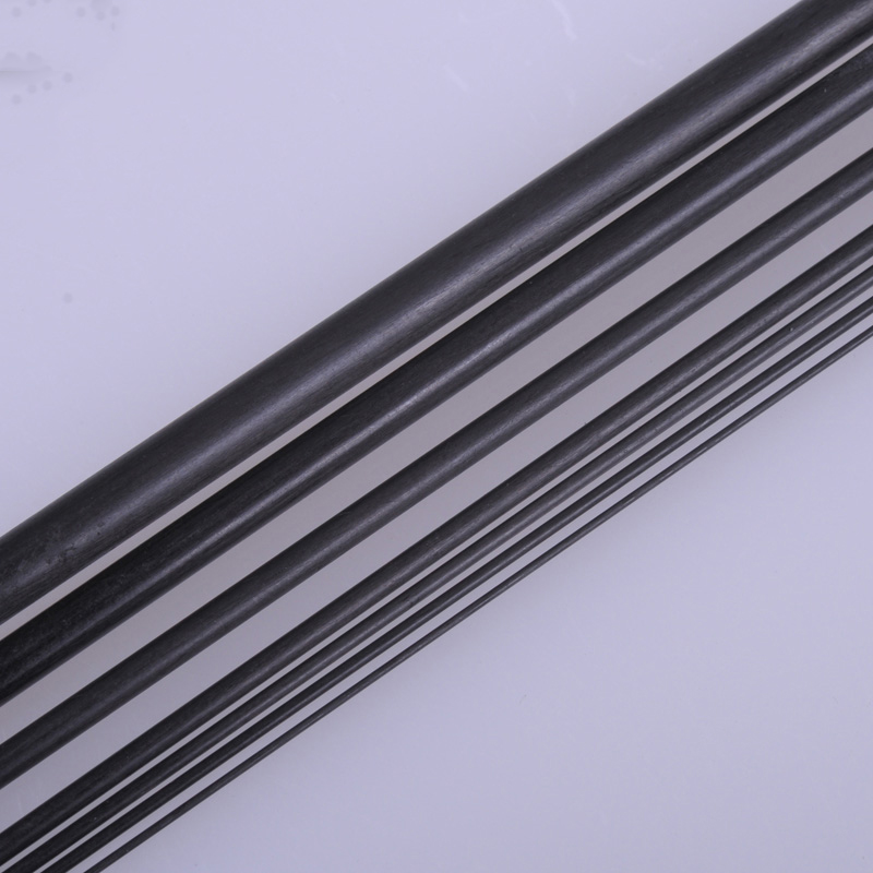 New 5pcs/lot Carbon Fiber Rods 0.5mm 0.8mm 1mm 1.5mm 2mm 2.5mm 3mm 4mm 200m Or 400mm Length