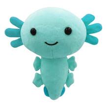 20cm Kawaii Axolotl pluszowe zabawki Cartoon Cute zwierząt nadziewane pluszowe lalki dla dzieci urodziny boże narodzenie prezenty na Halloween poduszki zabawki tanie tanio CN (pochodzenie) Tv movie postaci MATERNITY W wieku 0-6m 7-12m 13-24m 25-36m 4-6y 7-12y 12 + y 18 + Genius Lalka pluszowa nano