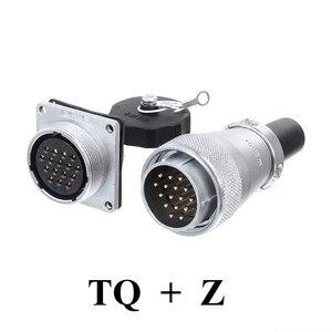 Image 2 - Ban Đầu WEIPU WS28 TQ + Z ZM ZG 2 3 4 7 8 9 10 12 16 17 20 24 26 Pin Kết Nối Nam Cắm Nữ Ổ Cắm cắm Ổ Cắm Cổng Kết Nối