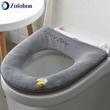 Cushion Toilet-Seat-Covers Home-Decor Warmer Closestool Bathroom Comfortable Soft M160