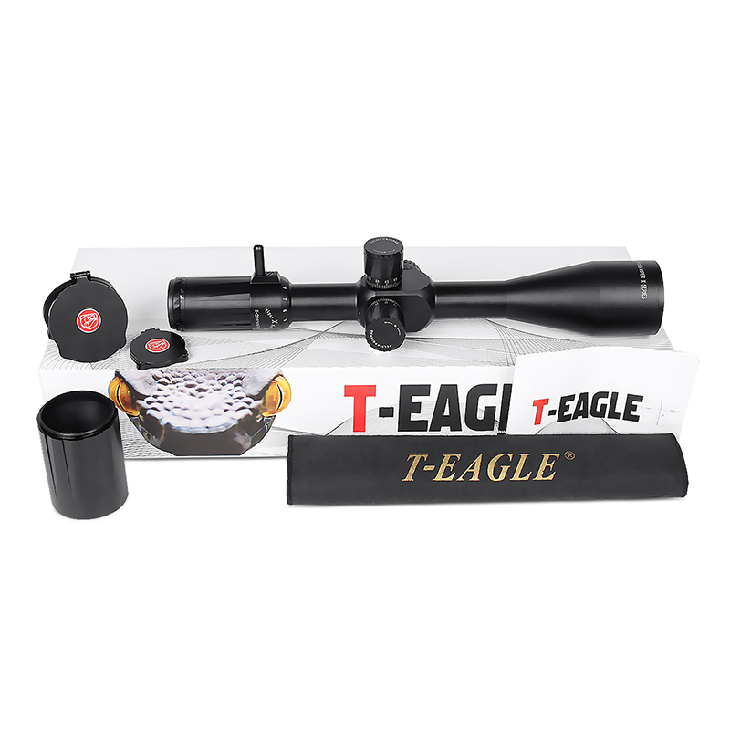 T EAGLE Viper HD 4 16x50 FFP Long Range First focal plane Shooting Hunting Riflescope 30mm Tube optical sight collimator scope in Riflescopes from Sports Entertainment