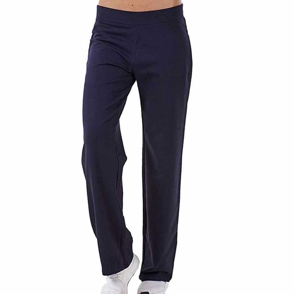 2019 Nieuwe Mode vrouwen Stretch Trainingspak Bodems Sport Broek Tummy Controle Running pantalones de mujer