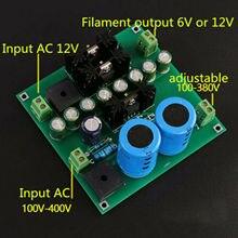 مضخم أنبوب مضخم طاقة 12 فولت ، فتيل ، مزود طاقة ، لوحة دوائر متكاملة
