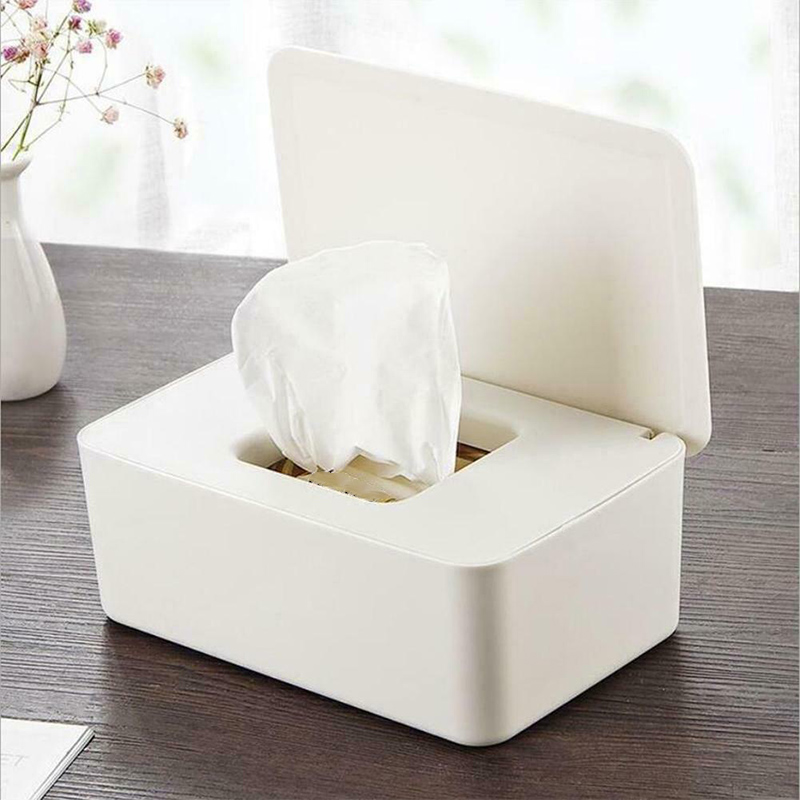 Hot Wet Tissue Paper Case Care Baby Wipes Napkin Storage Box Holder Container JD