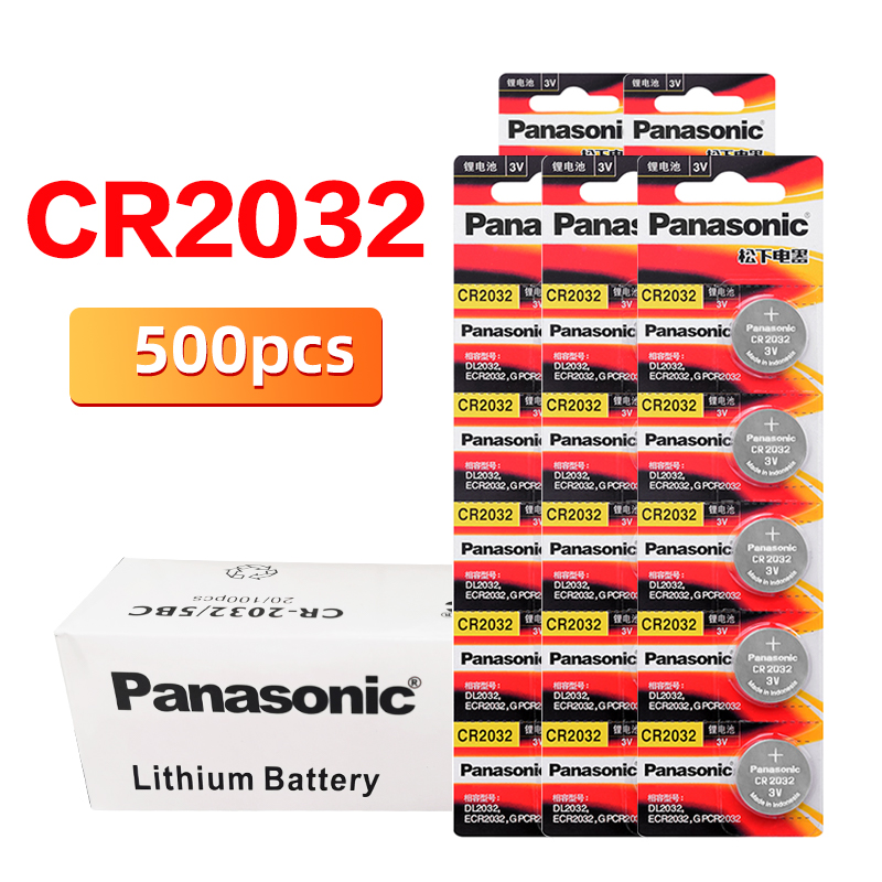 PANASONIC cr2023 500pcs/lot original brand new <font><b>battery</b></font> for 3v button cell coin <font><b>batteries</b></font> for watch computer cr2023 For Toys image