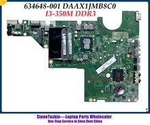 Hoge Kwaliteit 634648-001 Voor Hp Pavilion G62 CQ62 G42 CQ42 DAAX1JMB8C0 Serie Laptop Moederbord I3 350M HM55 DDR3 100% Getest