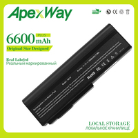 Apexway 6600mAh 11.1v laptop battery for Asus A32 M50 A33 M50 L062066 L072051 L0790C6 G50 G51 M50 M60 N43 N53 N53D N53DA N53J