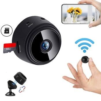 JOZUZE A9 Wireless ip Mini Camera Home Security Camera WiFi Night Vision 1080P Wireless Surveillance Camera Remote Monitor 1
