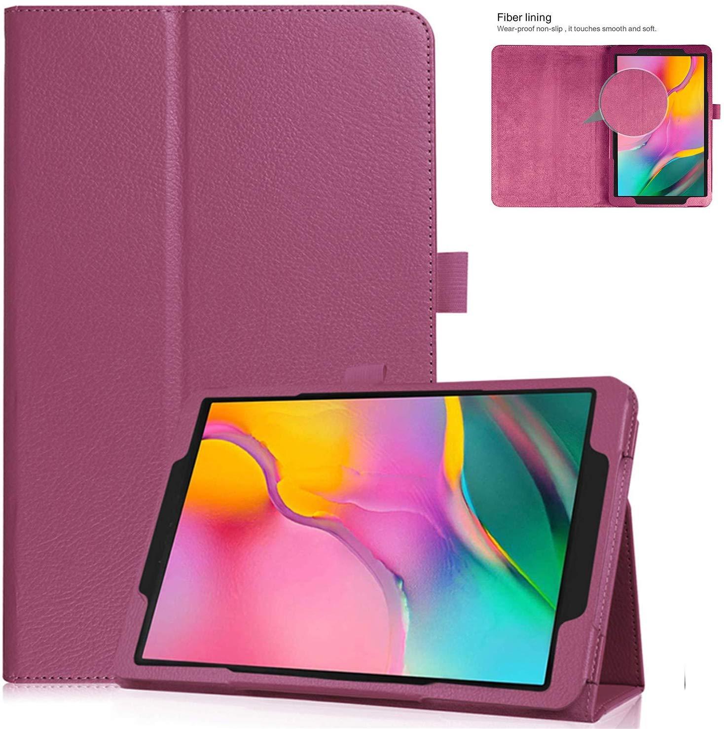 """Для samsung Galaxy Tab A 8,0 T290 T295, ультра тонкий кожаный чехол с откидной крышкой, чехол-подставка для Galaxy Tab A 8,0 """"2019, Fundas"""