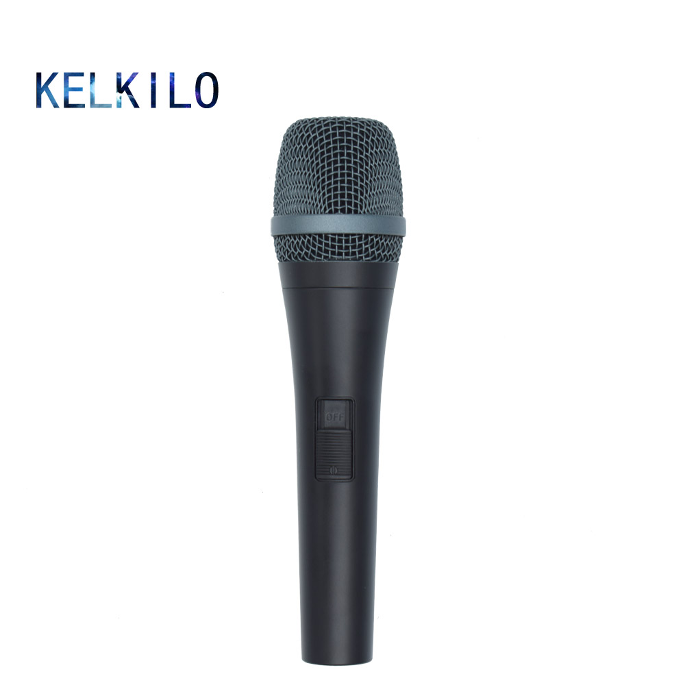 KELKILO KE945S Dynamic Wired Microphone Professionnel For E945S For Karaoke Vocal Music Performance Professional Free Shipping