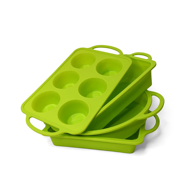 Silicone Green Pan