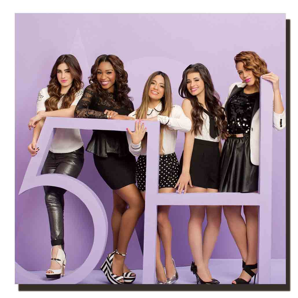 Z237 fifth harmony girl star actress music star Album art Silk Cloth Poster paiting Wall Picture Decoration Room12x12 24x24in image