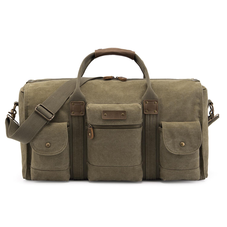 Западный стиль, Большая вместительная сумка для путешествий, Холщовая Сумка для багажа, ручная сумка через плечо, мужская сумка для